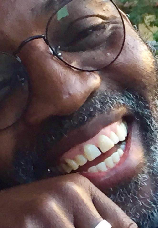 Photo Kouame smiling
